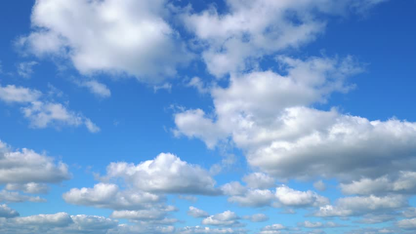 The clear sky with a cloud | Shutterstock HD Video #1027547102