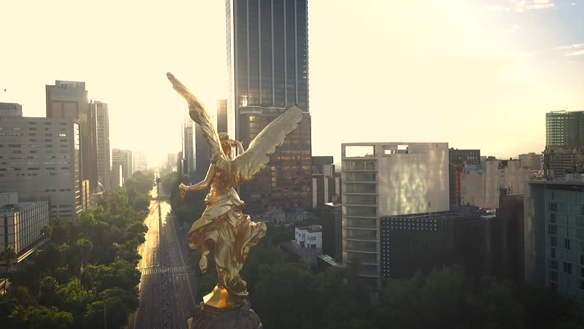 Best Angel de la Independencia Drone View
