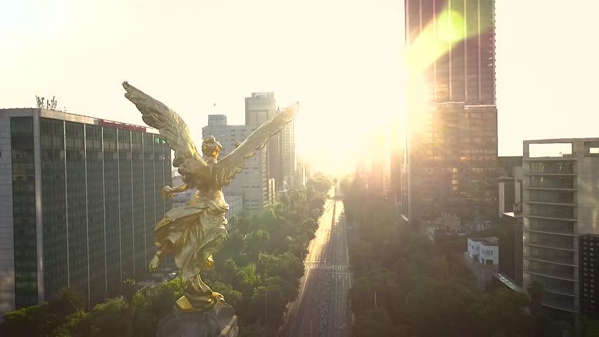 Best Angel de la Independencia Drone View