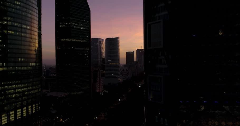 Mexico City, drone View reforma