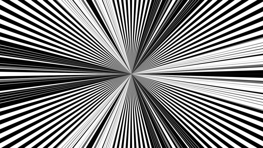 Black and white stripes. Computer generated abstract background, 3D rendering backdrop | Shutterstock HD Video #1027698128