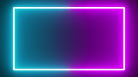 TV Series COLORFUL neon glow color moving seamless art loop background abstract motion screen background animated box shapes 4K loop lines design 4K laser show looped animation ultraviolet spectrum 4K