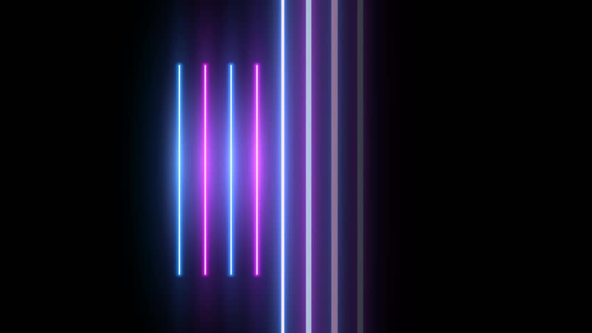 Neon background. Purple and blue neon background appears and disappears. Bright live neon background. Ver.No 6. 4k | Shutterstock HD Video #1027757471