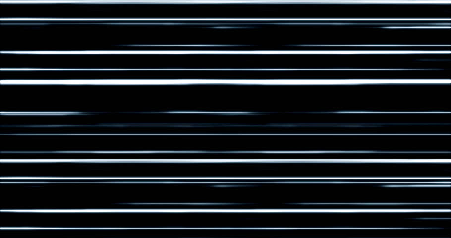Futuristic digital white blue light lines moving from left to right. | Shutterstock HD Video #1027776692