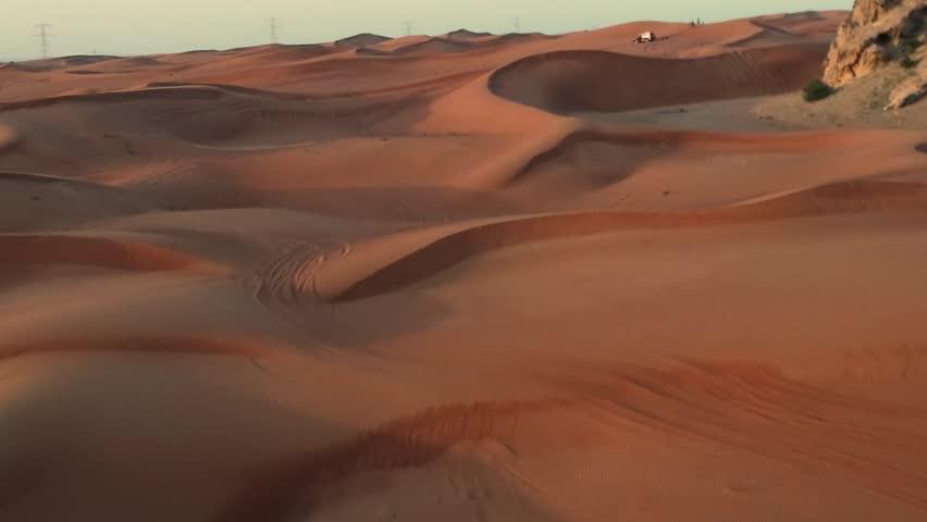 General view of desert in dubai | Shutterstock HD Video #1027894949