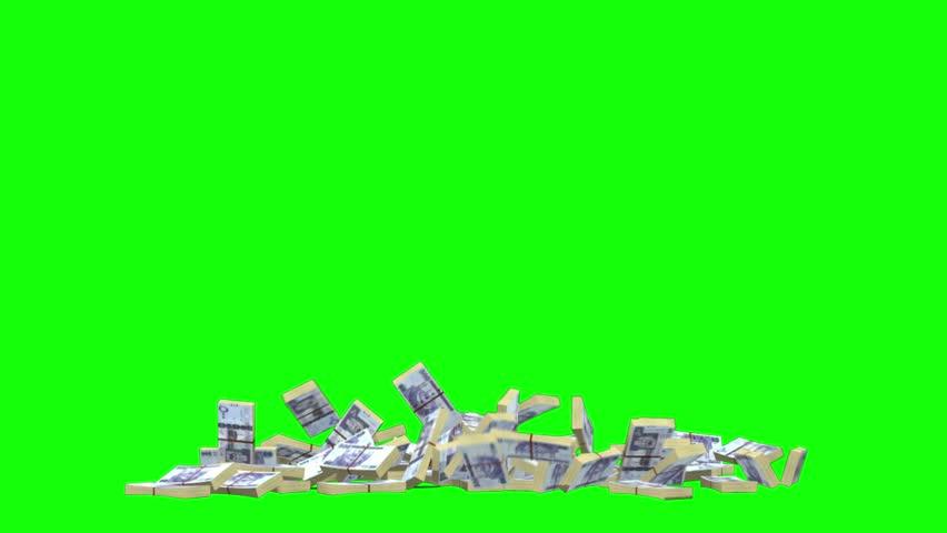 Saudi Arabia Money Falling  Down