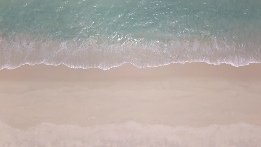 Top view Clean and beautiful beach Phuket Thailand | Shutterstock HD Video #1028063012