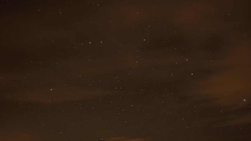 Stars time lapse #1028074031