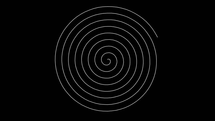 Swirling hypnotic spiral (full HD 1920x1080 30 Fps) | Shutterstock HD Video #1028138774