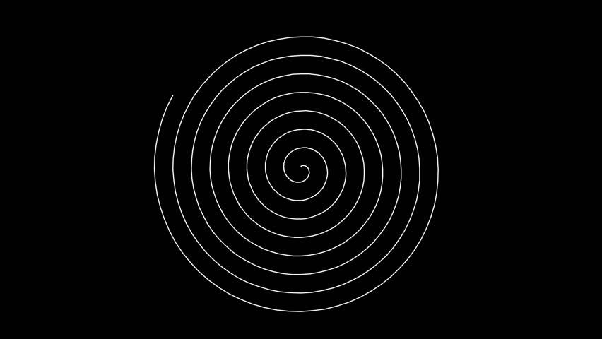 Swirling hypnotic spiral (full HD 1920x1080 30 Fps) | Shutterstock HD Video #1028138801