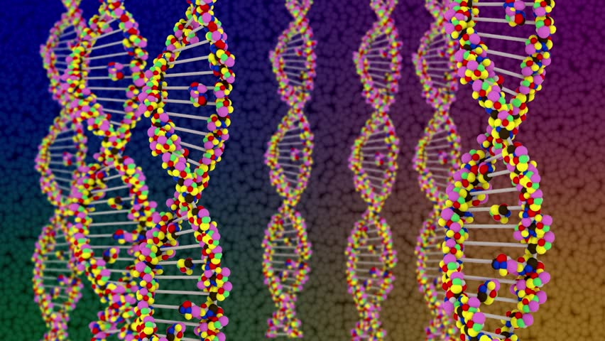Abstract Background DNA | Shutterstock HD Video #1028245430