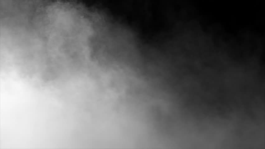 smoke , vapor , fog - realistic smoke cloud best for using in composition, 4k, use screen mode for blending, ice smoke cloud, fire smoke, ascending vapor steam over black background - floating fog