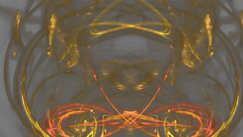 Abstract fractal forms morph and oscillate (Loop)   Shutterstock HD Video #1028284877