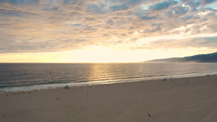Beach California Aerial travelling