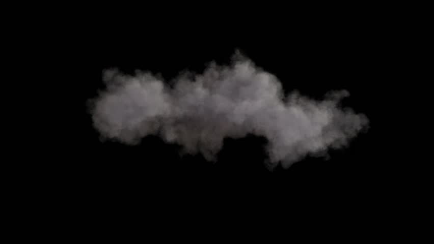4k cloud loop. beautiful fast billowing cloud isolated on black background with alpha, light rays shining through, popular compositing element | Shutterstock HD Video #1028334752