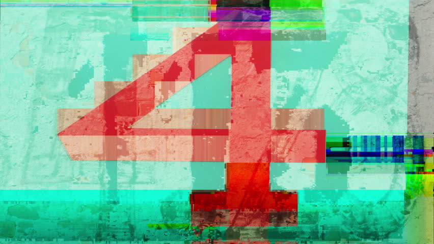 Collection of found urban numbers made into a technology sequence with overlayed glitch effects   Shutterstock HD Video #1028339987