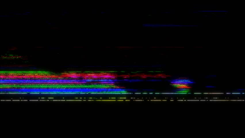 VHS real Defects Noise and Artifacts, Glitches from an Old Tape | Shutterstock HD Video #1028448182