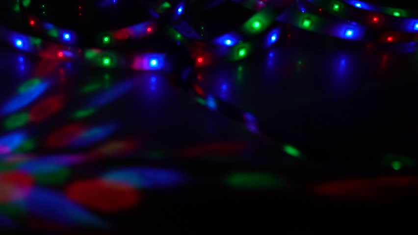 Bokeh, light and fluid movement in bright pigment | Shutterstock HD Video #1028478131