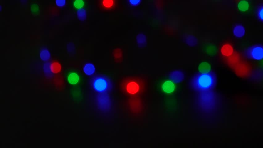 Bokeh, light and fluid movement in bright pigment | Shutterstock HD Video #1028478206