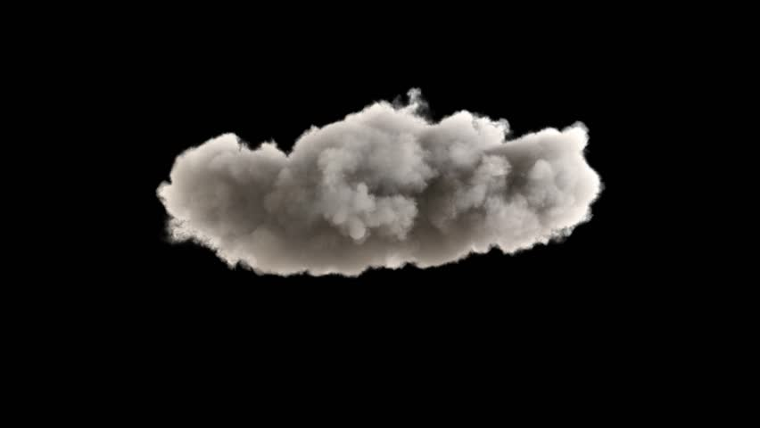 4k cloud loop. beautiful fast billowing cloud isolated on black background with alpha, light rays shining through, popular compositing element | Shutterstock HD Video #1028521535