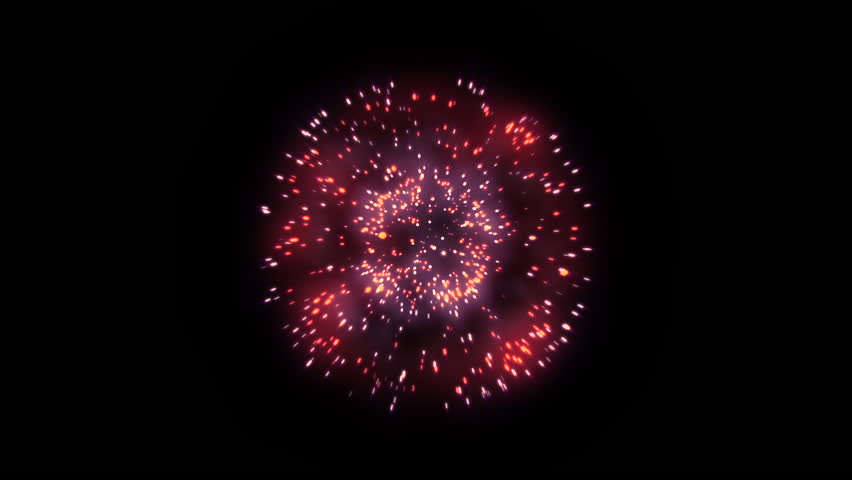 3D Abstract. Realistic animation Firework Colorful. | Shutterstock HD Video #1028719808