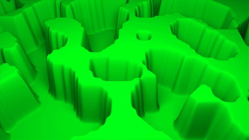 Simple terrain modern 3d surface model, 3d rendering backdrop, computer generating background | Shutterstock HD Video #1029068051