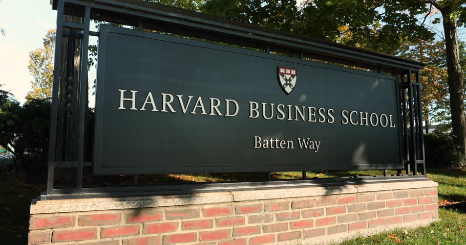 Boston, Massachusetts, USA – October 18, 2018: Harvard Business school building in Cambridge Massachusetts USA.