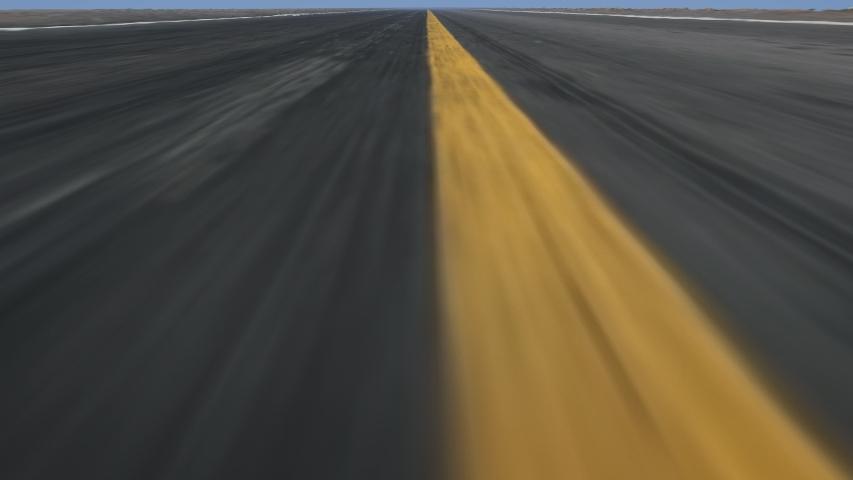 4K - Speed road flight, seamlessly loop-able | Shutterstock HD Video #1029163202