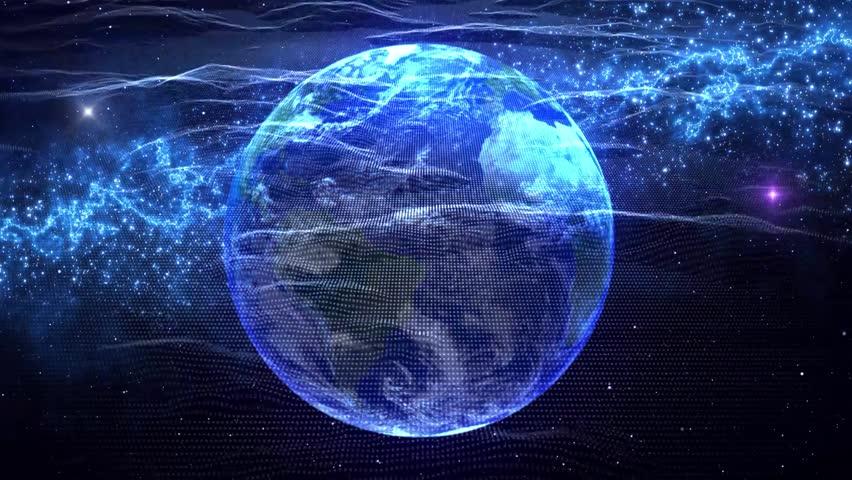 Global technology communication network background   Shutterstock HD Video #1029187190