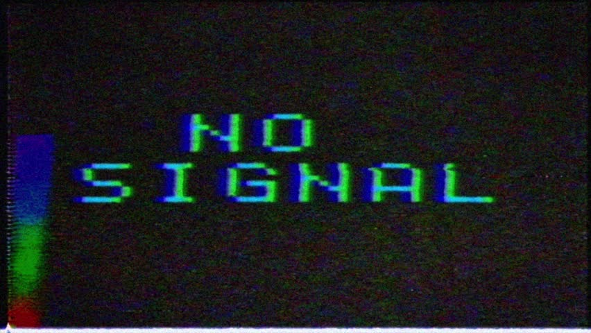 No signal, message with glitch effect.Unique Design Abstract Digital Animation Pixel Noise Glitch Error Video Damage   Shutterstock HD Video #1029244184