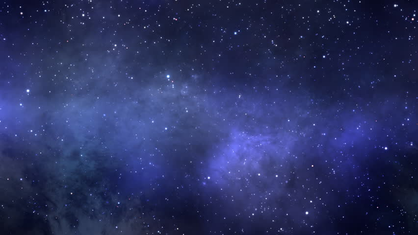 The space flight into the deep space inside nebulae and star clusters is represented on this footage. Computer animated, seamlessly looped video. Royalty-Free Stock Footage #1029393191