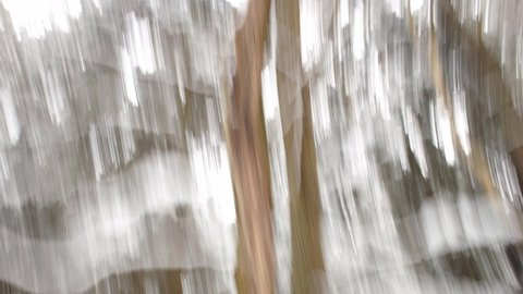 Falling snow art abstract video background