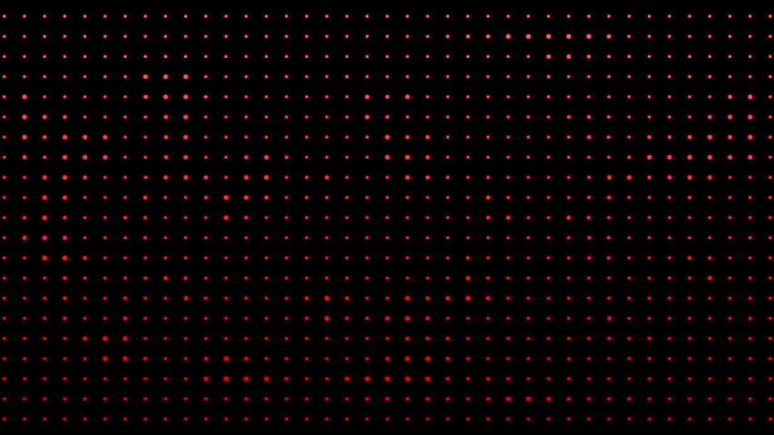 Circular glowing red animated dots | Shutterstock HD Video #1029534821