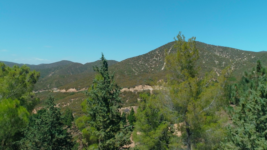 California National Forest Wooded Hills | Shutterstock HD Video #1029618956