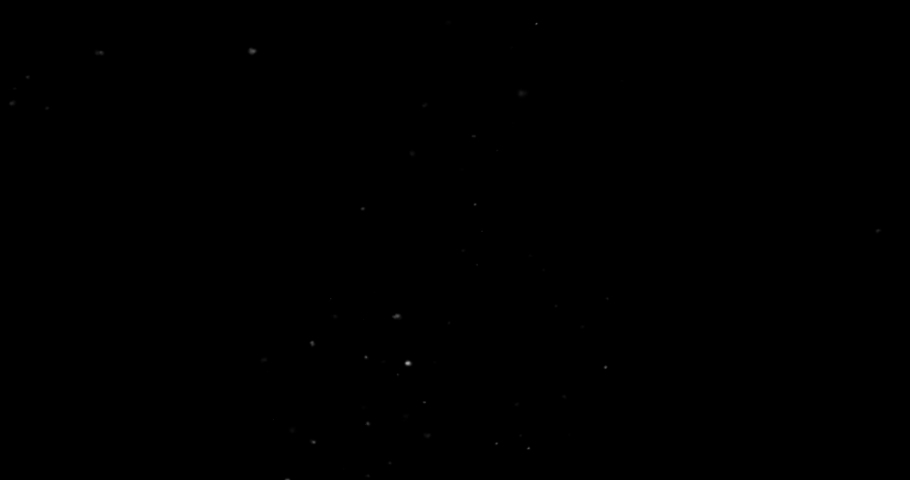 Flying dust particles on a black background | Shutterstock HD Video #1029746741