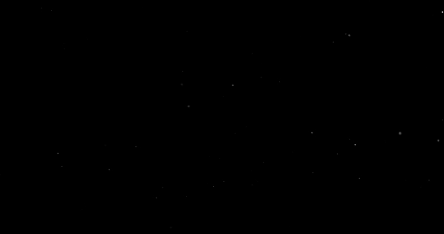 Flying dust particles on a black background | Shutterstock HD Video #1029746753