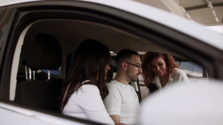 Buying a car at a car dealership