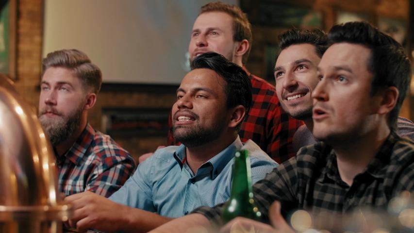 Footbll fans awaiting for score   Shutterstock HD Video #1029817730