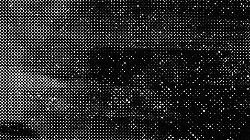 4K Grunge Halftone Texture Black