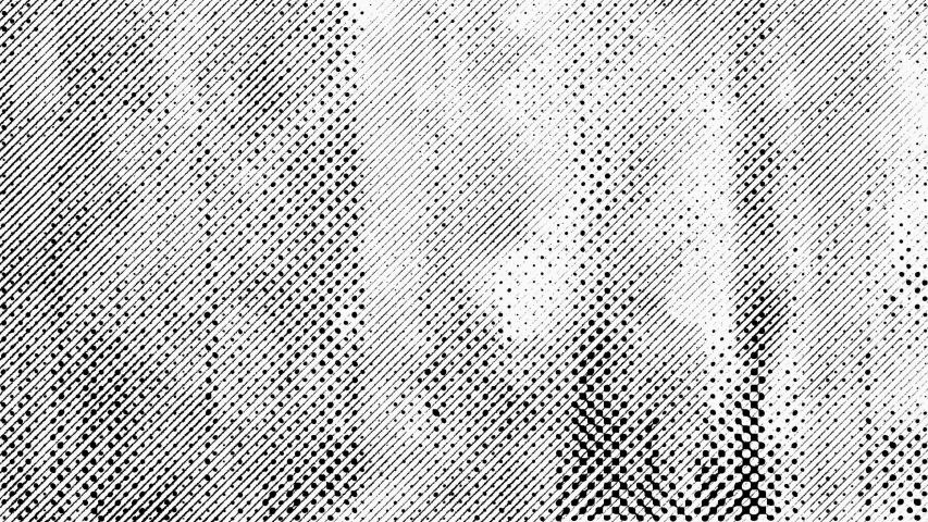 4K Grunge Halftone Texture White