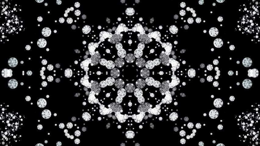 Diamonds animation- kaleidoscopic diamonds background | Shutterstock HD Video #1029960899