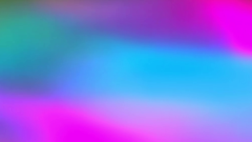 Holographic neon foil animation with vibrant colorful abstract background. Smooth looped motion. Multicolored motion animation background #1030012574