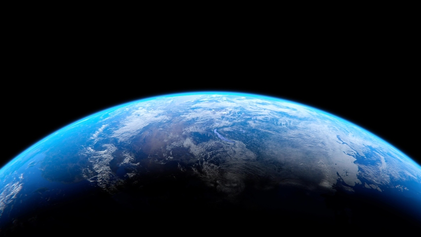 The earth  CG world space global universe planet | Shutterstock HD Video #1030142036
