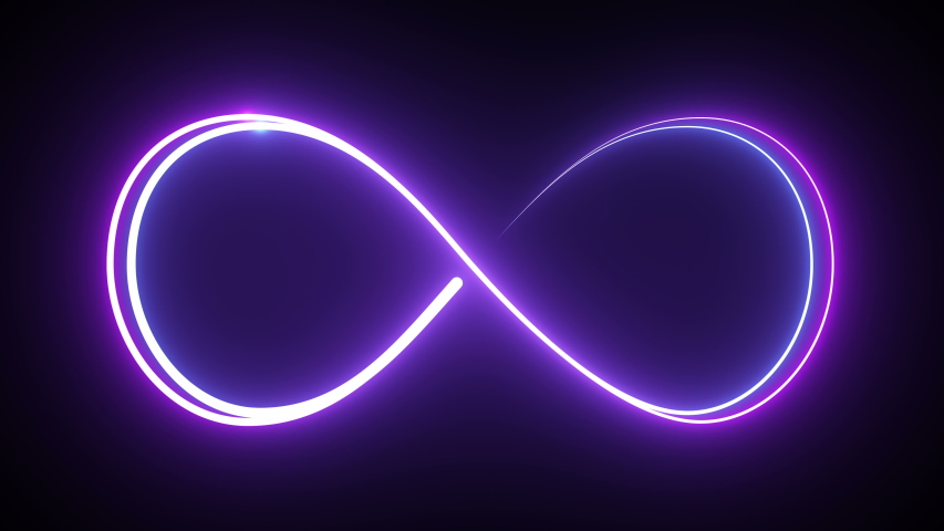 Neon style motion line icon infinite abstract neon glow color 4K moving seamless art loop background abstract motion screen background animated box shapes 4K loop lines colorful design 4K laser show | Shutterstock HD Video #1030253678