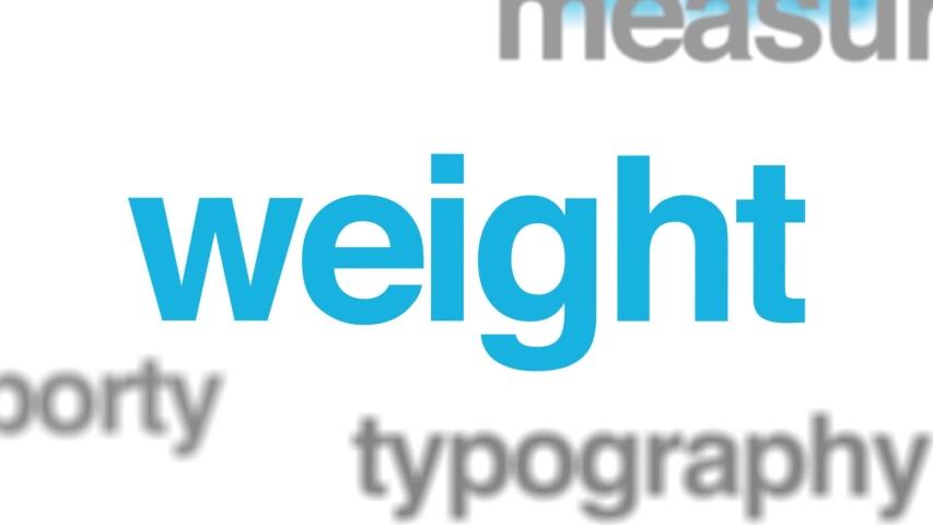 Exercise regimen animated word cloud. Kinetic typography. | Shutterstock HD Video #1030400564