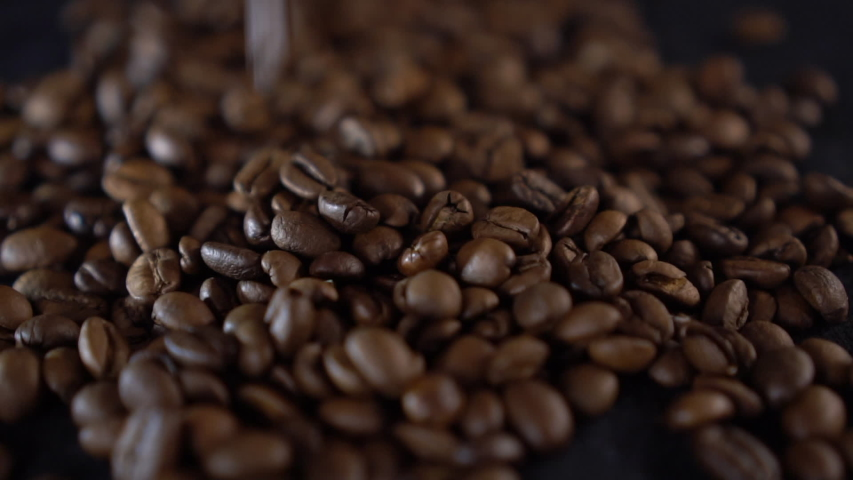 Coffee Beans in Slow Motion | Shutterstock HD Video #1030426871