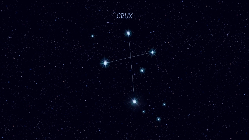 Crux Constellation Stock Video Footage - 4K and HD Video Clips ...