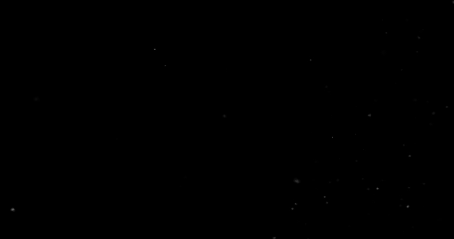 Flying dust particles on a black background | Shutterstock HD Video #1030484714