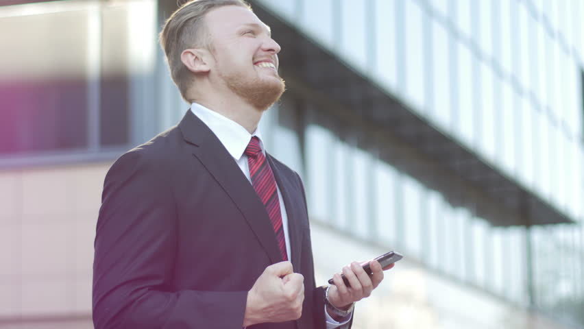 Successful Businessman Looking At The Stock Footage Video 100 Royalty Free 10305038 Shutterstock