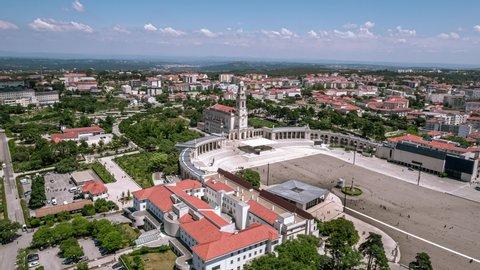 Aerial View of Sanctuary of Fatima, Sanctuary of Our Lady of Fatima, Fátima, Portugal